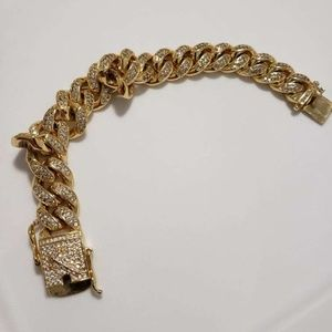 Gold plated braclet